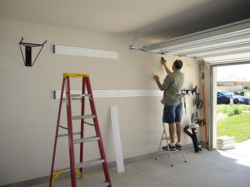Cost to install a garage door opener estimates and for Estimated cost to build a garage